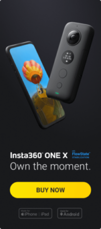 Insta360 One X Camera - Own The Moment